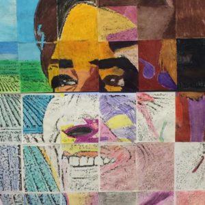Cesar Chavez School artwork